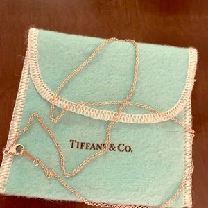 Tiffany's 18 inch sterling silver chain